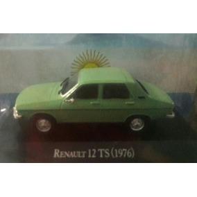 Auto Renault 12 Autos Inolvidables Coleccion 1/43