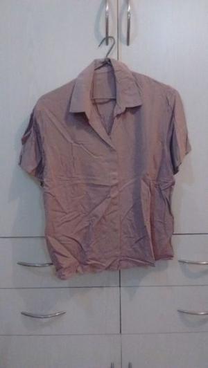 Camisa mujer mangas cortas