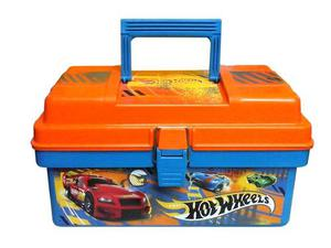 Cofre Autitos Grande Porta Hot Wheels Valija Car Case Intek