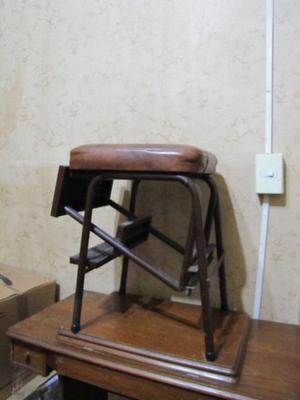 Escalera metalica plegable 6 pelda os posot class for Banqueta escalera plegable