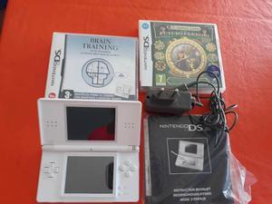 Nintendo Ds Lite + 2 Juegos Brain Training