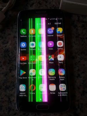 Samsung S6 Edge 64GB con detalles. Libre en caja, ESCUCHO