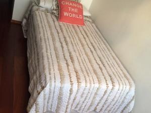 Sommier de 1 plaza y media con colchón