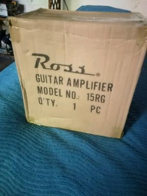 Vendo amplificador de guitarra muy poco uso