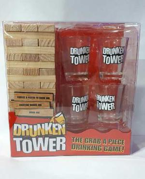fc310174c Drunken tower jenga juego para previas