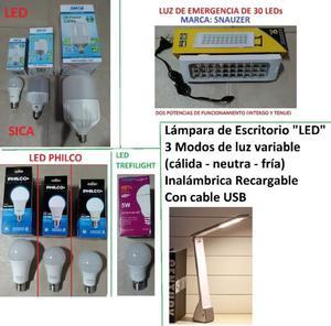 LAMPARA LED LAMPARA DE ESCRITORIO LED LUZ DE EMERGENCIA