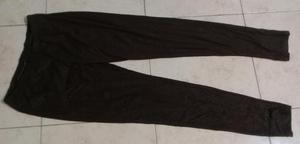 Pantalon Calza Marron Algodon Talle 40