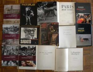 Lote De 13 Libros De Fotografía