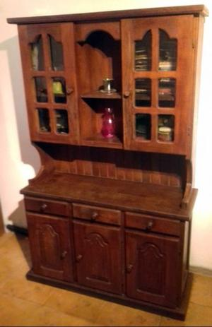 Mueble de algarrobo excelente macizo posot class Mueble de algarrobo modular