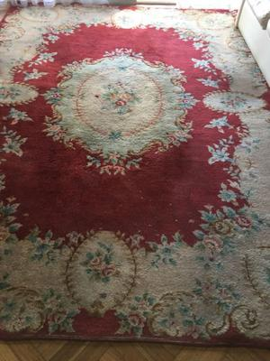 Oportunidad única hermosa alfombra antigua original