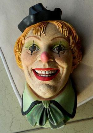 Cara para colgar Clown made in England  nueva
