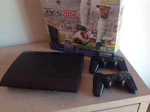 Ps3 Slim 250gb Con 2 Joysticks