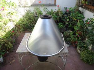 campana de cocina en acero inoxidable