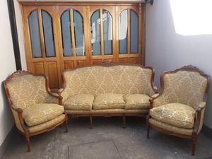 juego de sillones antiguos de estilo luis xv