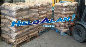 Carbón Bolsa de Papel x 10 Kgs Hielo Alan Lanus