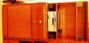 3 Modulos Multifuncionales (cama 1 plaza + escritorio +