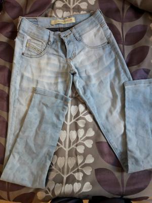 Jeans Mujer Kanikama Talle 36 Nuevo