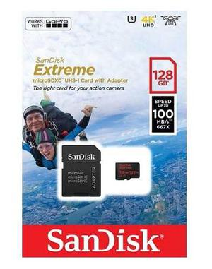 Sandisk Extreme Micro Sd 128 Gb 100 Mb/s