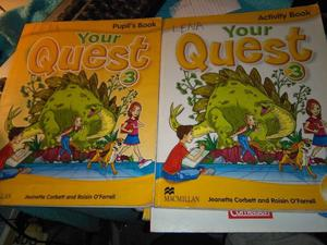 Your Quest 3 Pupil's Book + Activity Book + 2 Cd