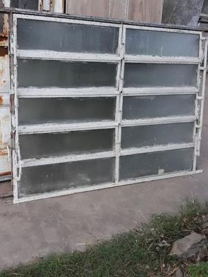 Vendo 2 ventanas de hierro