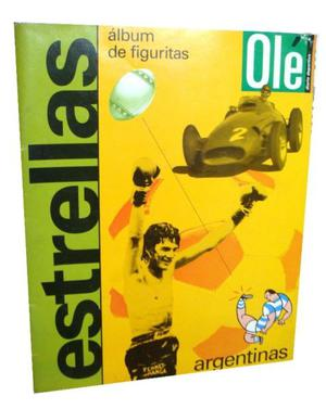 Album De Figuritas Estrellas Ole Completo Coleccion Argentin