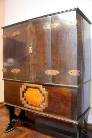 Antiguo mueble combinado Art Decó