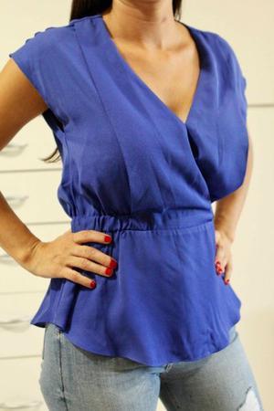 Camisa azul talle XS importada de USA