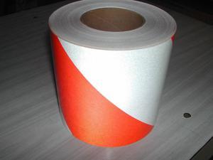 Cinta Barricada 3M naranja y blanco 144 LNL
