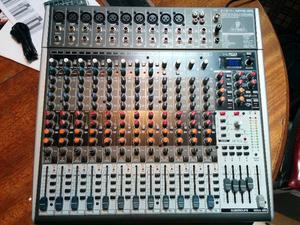 Consola Behringer Xenyx X Usb - Impecable Igual A Nuevo