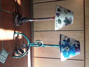 Vendo 2 lámparas de pie