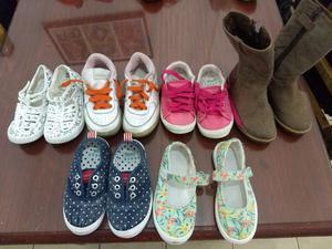 Zapatillas y botas en perfecto estado con muy poco uso