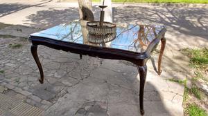 Antigua mesa extensible estilo provenzal