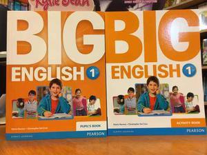 Big English 1 - Pupils Book & Activity Book - Pearson