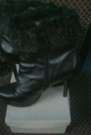 Botas color negro mujer numero 38