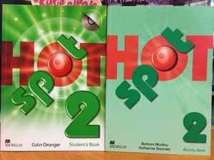 Hot Spot 2 - Student S Book & Activity Book - Macmillan