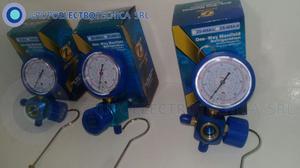 Manifold simple para baja preción 410 Aluminio