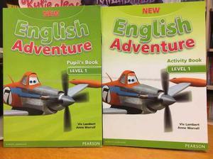 New English Adventure 1 Pupil S Book & Activity Book Pearson