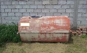 Vendo Tanque horizontal bicapa L. Usado
