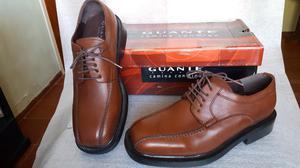 Zapatos cuero Guante hombre acordonado 41
