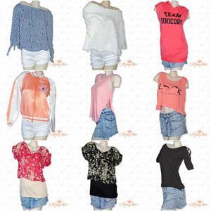 lote de ropa de mujer 100 prendas nuevas