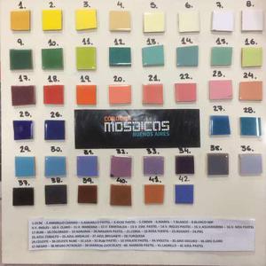 Azulejos De Colores 15 X 15 - Mosaiquismo - Revestimiento