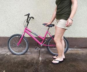 Bicicleta Leira Rodado 19 para niña usada