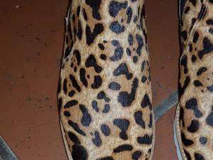 Botas hush puppies animal print