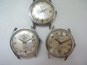 Desta,aetos,antiguo Reloj Pulsera,lote Automatico Y Manual