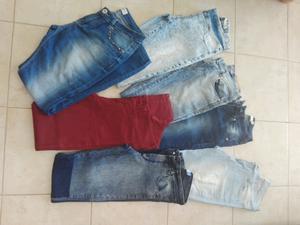 Jeans chupín talle 36 un uso $170