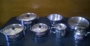 vendo combos de aluminio, (combo 1 de 8 productos a $) y