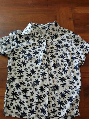 Camisas de fibrana talle 1 un uso