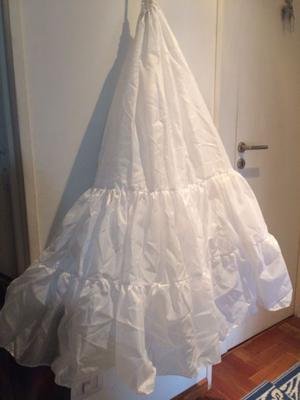 Enagua para vestido de novia o de 15