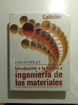 Libro: Introduccion A La Ciencia E Ingenieria De Materiales