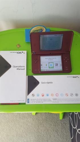 Nintendo Dsi Xl Con Funda Cargador, Trafo A 220v. Y Caja